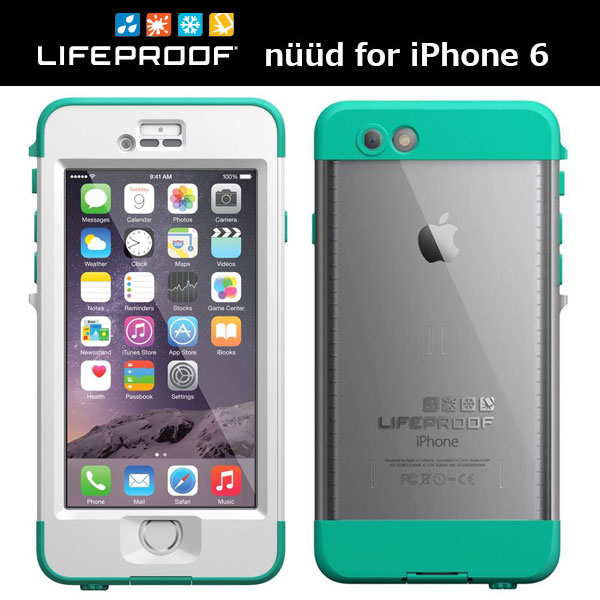 LifeProof nuud for iPhone 6 Riptide Teal