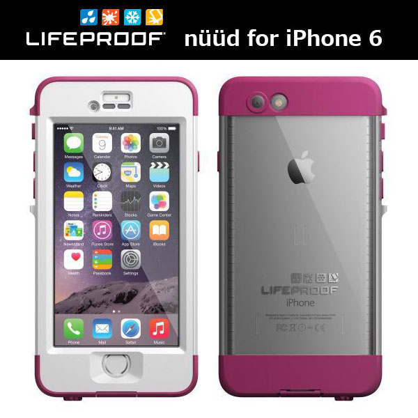 LifeProof nuud for iPhone 6 White/Pink/Clear