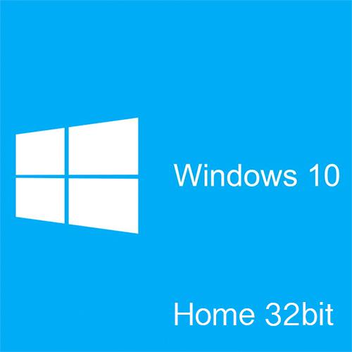 Microsoft Windows 10 Home 32Bit DSP版 日本語版