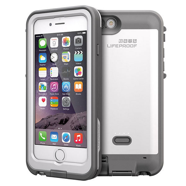LifeProof fre Power Case 2,600mAh for iPhone 6 White