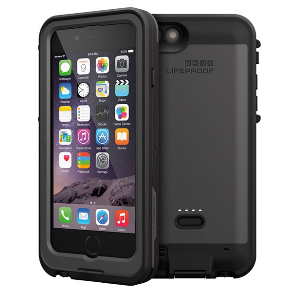 LifeProof fre Power Case 2,600mAh for iPhone 6 Black