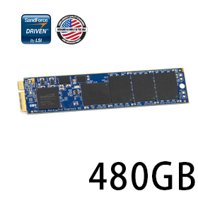 OWC Aura Pro 6G SSD 480GB for MacBook Air 2012 Edition ドライブケース付