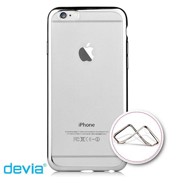Devia iPhone 6 Plus / 6s Plus Glitter soft case Silver