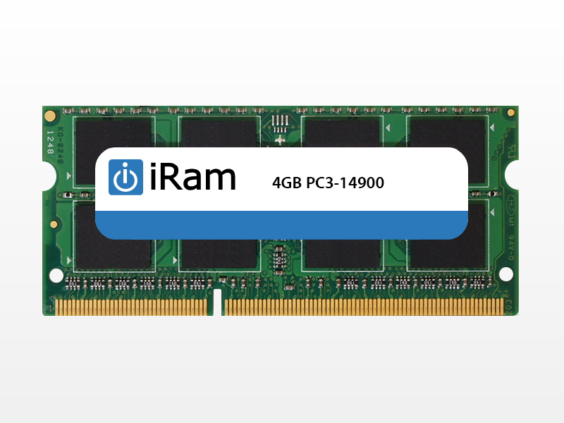 iMac (Retina 5K, 27-inch, Late 2015) メモリー iRam Technology Mac用メモリ PC3L-14900 4GB SO-DIMM 204pin