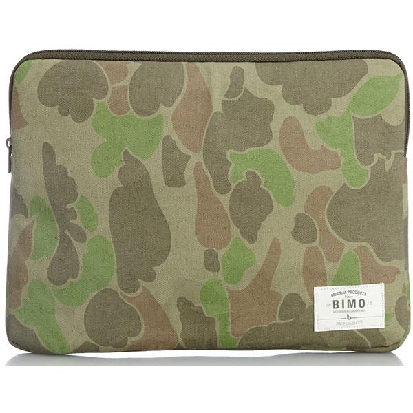 bimo notebook pc case camo collection 13inch green cam bm130022