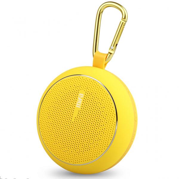 mifa Mubit 2 F1 高音質カラーモバイルスピーカー イエロー