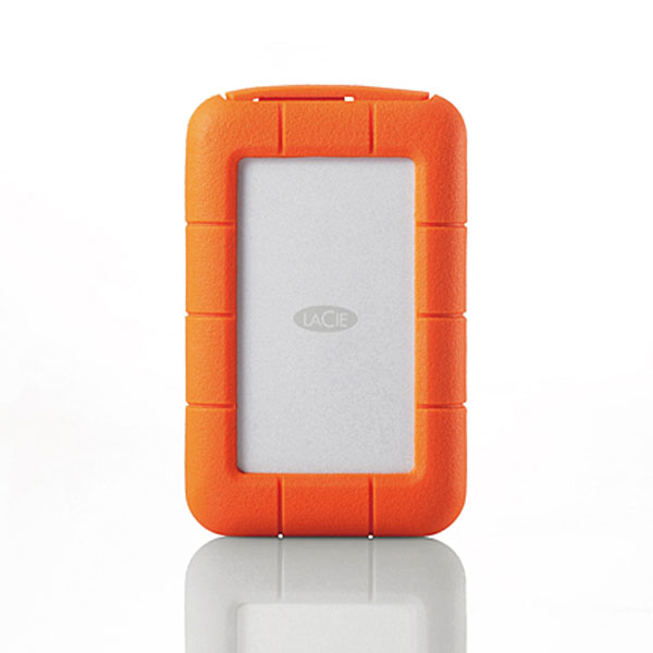 Lacie Rugged Thunderbolt USB 3.0 HDD 1TB Appleストア限定モデル