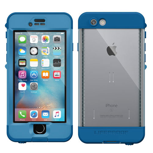 LifeProof Nuud for iPhone 6s Cliff Dive Blue
