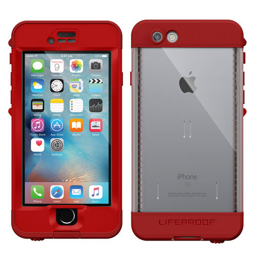 LifeProof Nuud for iPhone 6s Campfire Red