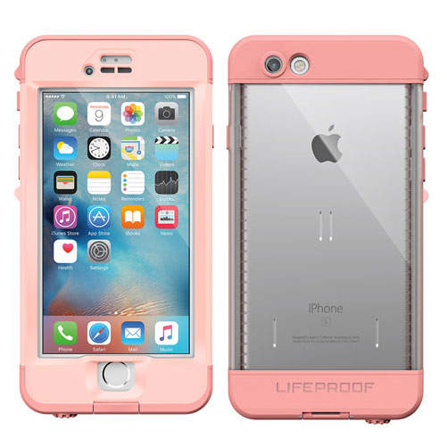 LifeProof Nuud for iPhone 6s First Light Pink
