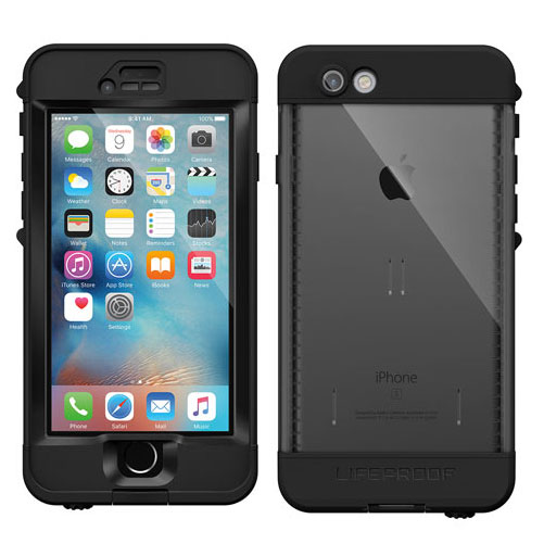 LifeProof Nuud for iPhone 6s Plus Black