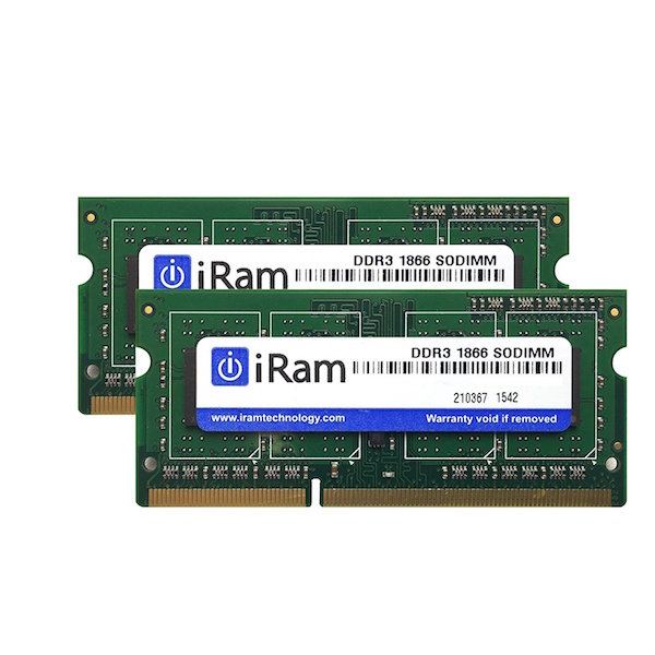 iMac (Retina 5K, 27-inch, Late 2015) メモリー iRam Technology Mac用メモリ PC3L-14900 8GB SO-DIMM 204pin