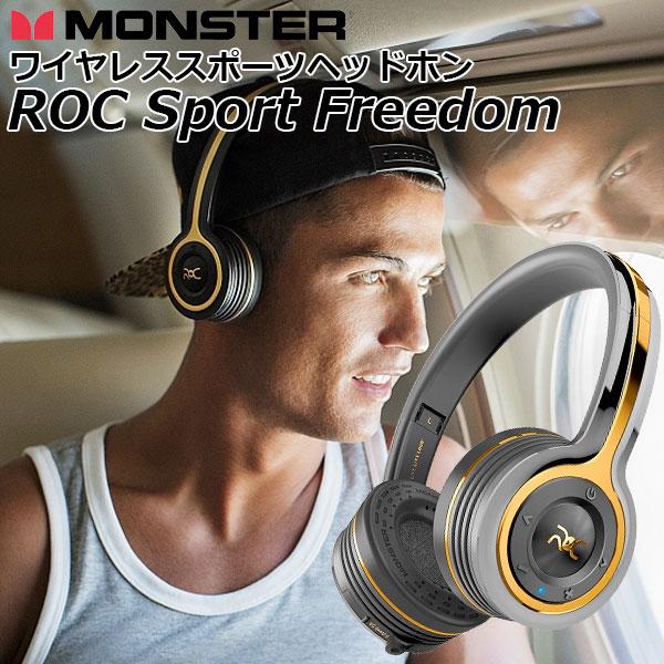 MONSTER CABLE ROC SPORT Freedom ワイヤレスオンイヤー・ヘッドフォン