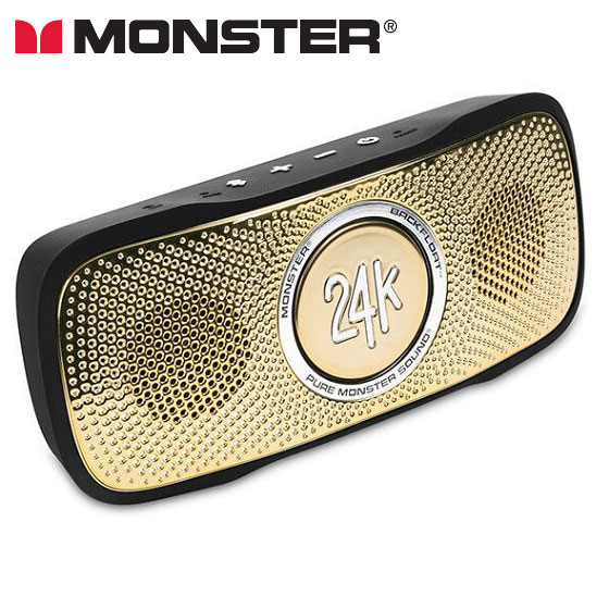 MONSTER CABLE モンスターケーブル 24K SUPERSTAR BACKFLOATワイヤレススピーカー