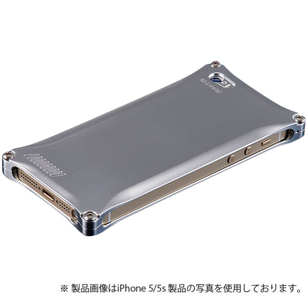 GILD design ソリッド for iPhone SE / 5s / 5 シルバー