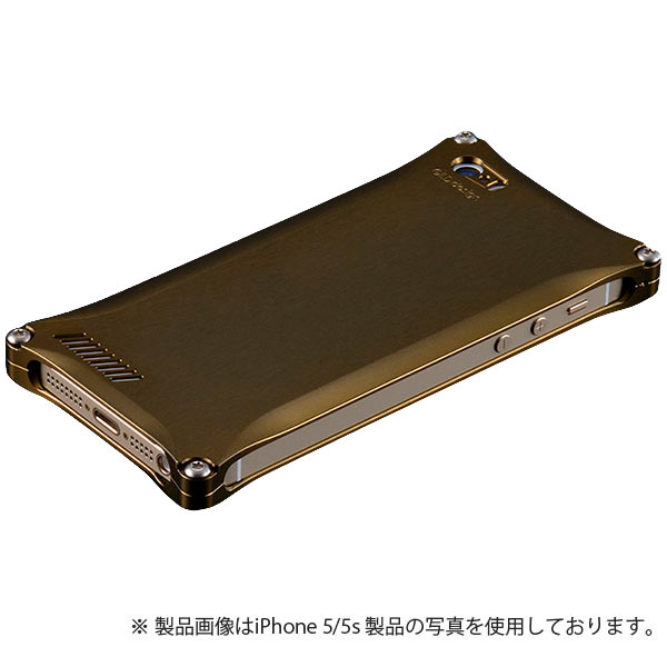 GILD design ソリッド for iPhone SE / 5s / 5 チタン
