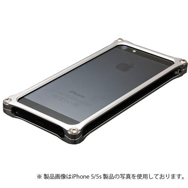 GILD design ソリッドバンパー for iPhone SE / 5s / 5 シルバー