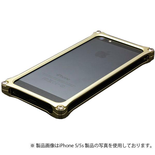 GILD design ソリッドバンパー for iPhone SE / 5s / 5 シャンパンゴールド