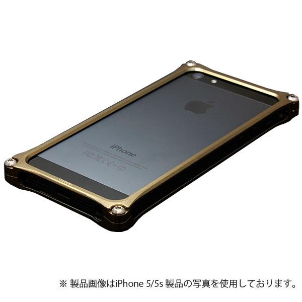 GILD design ソリッドバンパー for iPhone SE / 5s / 5 チタン