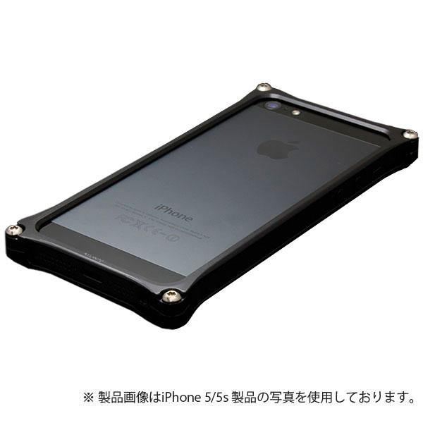 GILD design ソリッドバンパー for iPhone SE / 5s / 5 ブラック