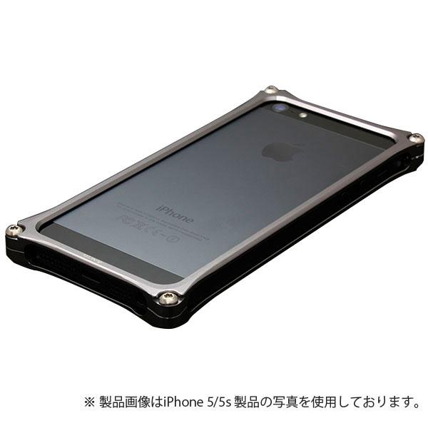 GILD design ソリッドバンパー for iPhone SE / 5s / 5 グレー