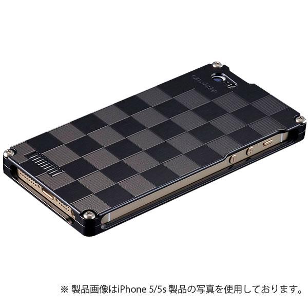 GILD design 市松 for iPhone SE / 5s / 5 ブラック