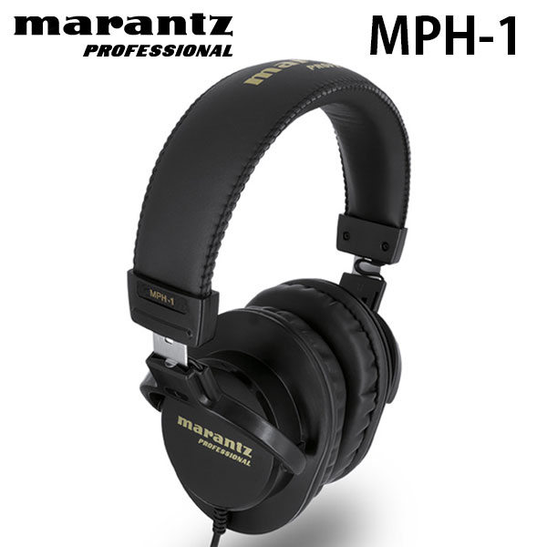 marantz professional MPH-1 40mm Over-Ear Monitoring Headphone
