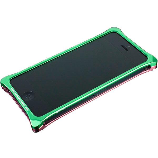 GILD design Solid Bumper for iPhone SE / 5s / 5 (EVANGELION Limited) MARI MODEL