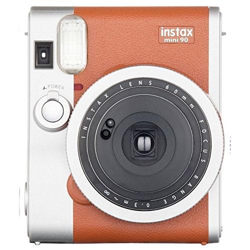 FujiFilm インスタントカメラ チェキ instax mini 90 ネオクラシック ブラウン