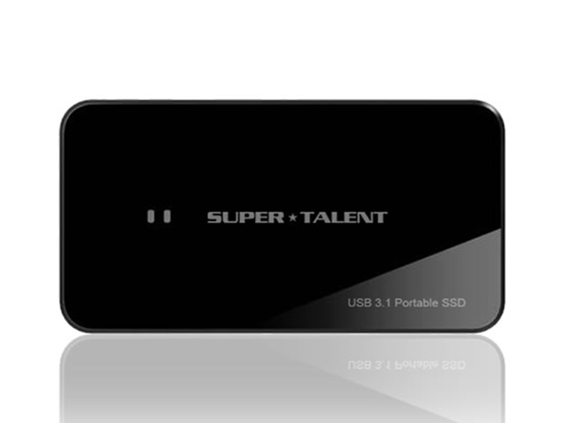 SuperTalent USB3.1 Gen2 Portable RAIDDrive 240GB SSD