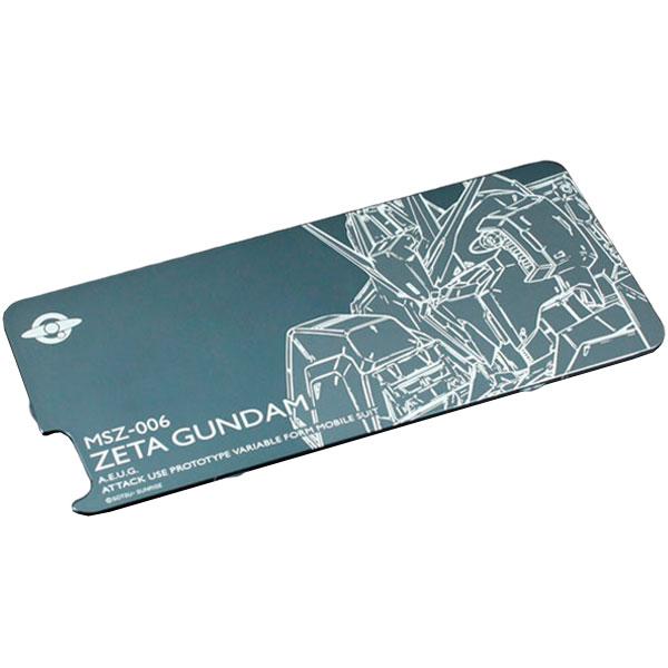 GILD design 機動戦士ガンダム アルミ背面保護パネル for iPhone 6 / 6s 対応ソリッドバンパー Zガンダム