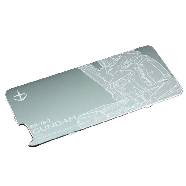 GILD design 機動戦士ガンダム アルミ背面保護パネル for iPhone 6 / 6s 対応ソリッドバンパー ガンダム