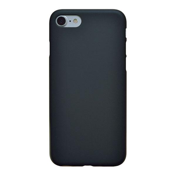 PowerSupport iPhone SE 第2世代 / 8 / 7 Air Jacket エアージャケットセット ラバーブラック