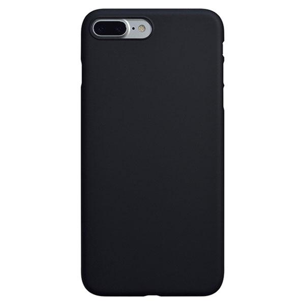 PowerSupport iPhone 7 Plus エアージャケットセット ラバーブラック