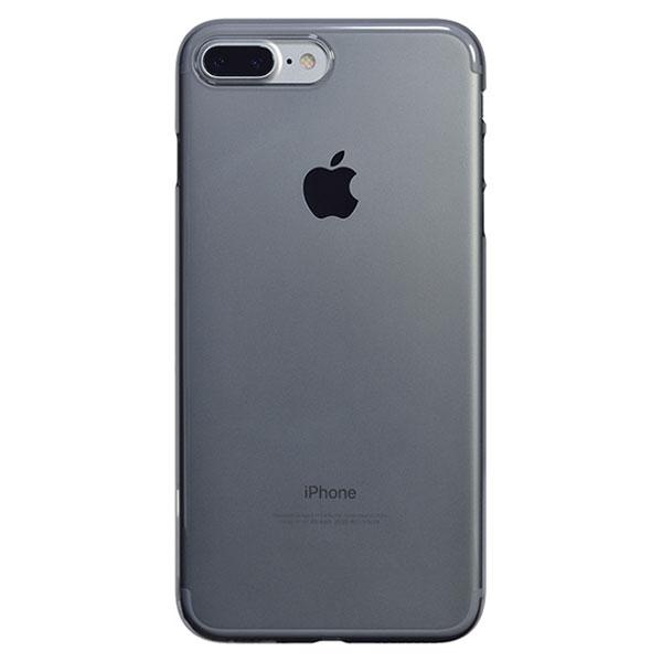 PowerSupport iPhone 7 Plus エアージャケットセット クリアブラック