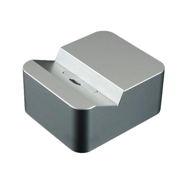 GILD design クレードル for iPhone (Lightning USBケーブル対応) シルバー