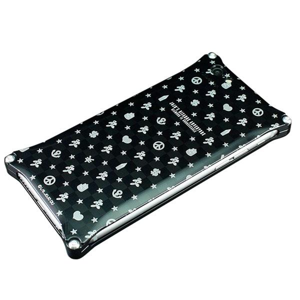 GILD design ジョジョの奇妙な冒険 ダイヤモンドは砕けない iPhone 6s / 6 対応ジュラルミンジャケット マーク総柄
