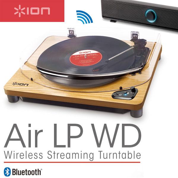 ION Audio Air LP WD ワイヤレス対応 Bluetooth レコードプレーヤー