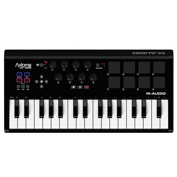 M-AUDIO Axiom AIR Mini 32 (MIDIキーボードコントローラー) Premium Keyboard and Pad Controller