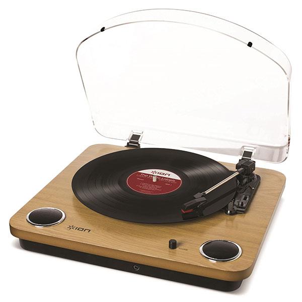 ION Audio Max LP スピーカー内蔵 レコードプレーヤー