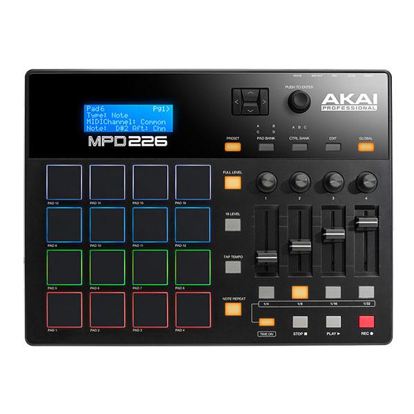 AKAI MPD226 USB MIDIパッドコントローラー