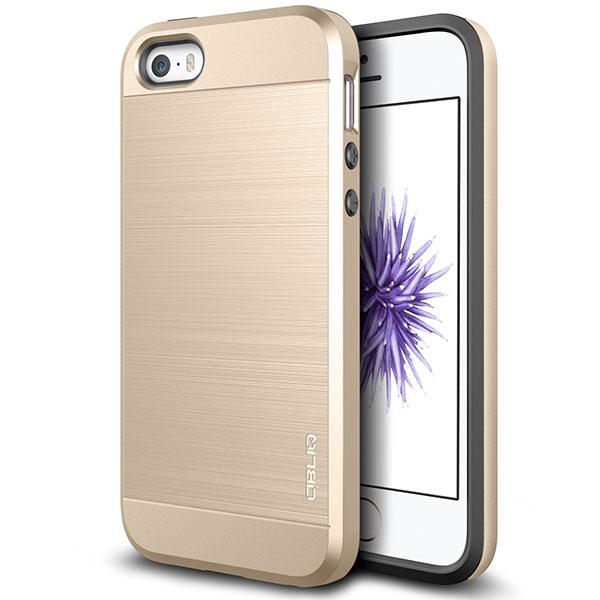 OBLIQ Slim Meta Pro for iPhone SE / 5s / 5 Champagne Gold