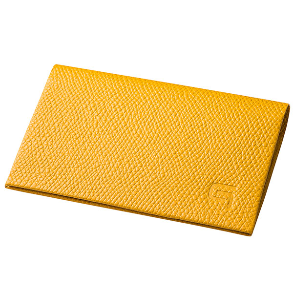 GRAMAS HAAWASE Card Case Yellow/Yellow