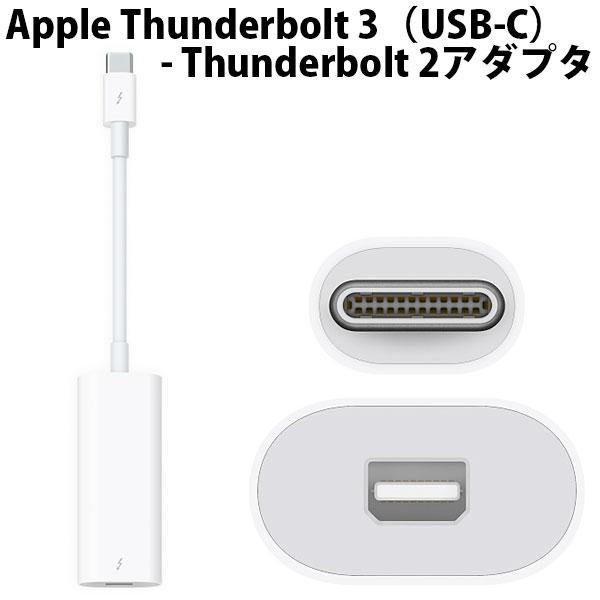 【New】 Apple Thunderbolt 3(USB-C)- Thunderbolt 2アダプタ