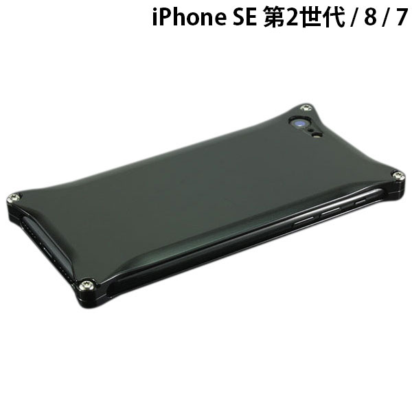 GILD design iPhone SE 第2世代 / 8 / 7 ソリッド ポリッシュブラック