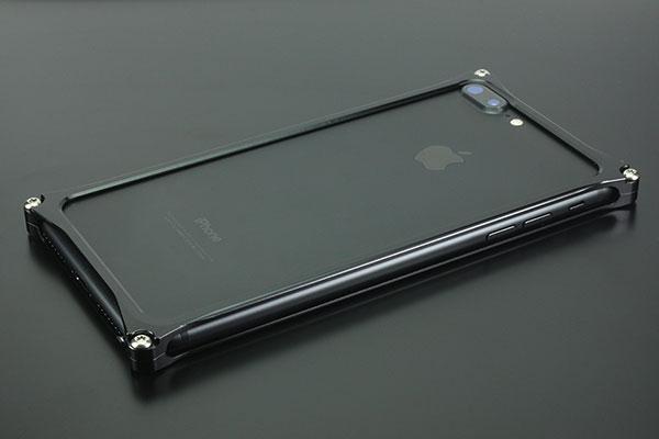 GILD design iPhone 8 Plus / 7 Plus ソリッドバンパーポリッシュブラック