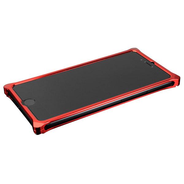 GILD design ソリッドバンパー for iPhone 7 Plus レッド