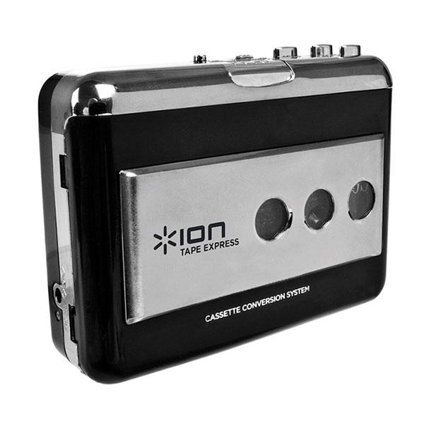 ION Audio Tape Express USB端子ポータブル カセットテープ プレイヤー