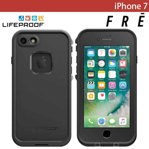 LifeProof iPhone 7 fre Asphalt Black