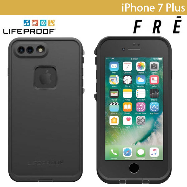 LifeProof iPhone 7 Plus fre Asphalt Black